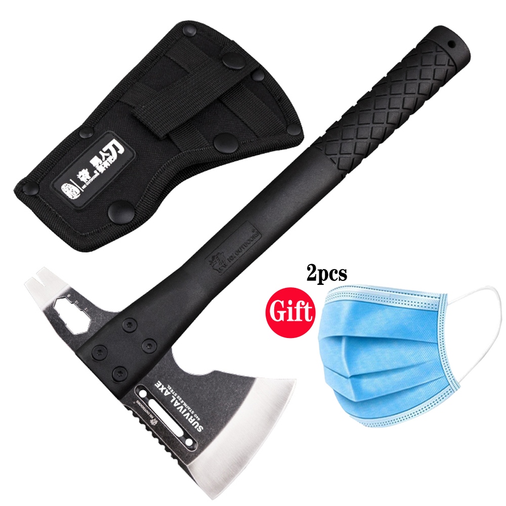 King Sea New Arrival Tactical Axe Tomahawk Army Outdoor Hunting Camping Survival Machete Axes Hand Tools Fire Axe Hatchet Axe