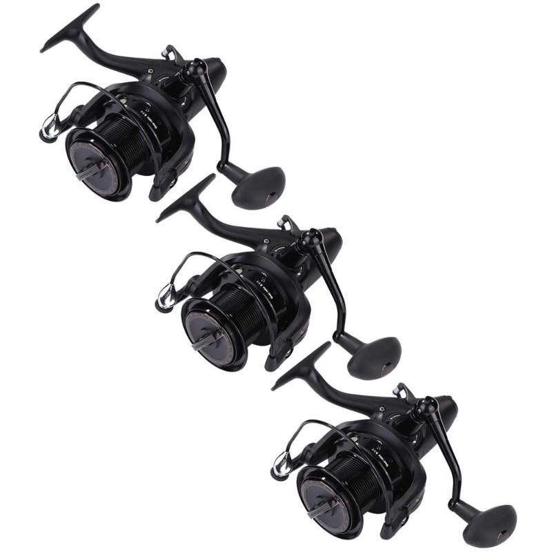 Рыболовная катушка металлическая Окума передний задний тормоз разгрузка сила спиннинга рыболовная Катушка колесо Pesca AcesoriosРыболовные катушки   -