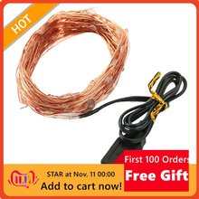 5 Meters 50 Lights Usb Copper Wire String Festival Decoration Lights Led Christmas Day Party Decoration Lights String