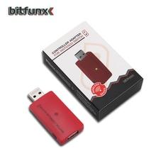 Беспроводной Bluetooth USB контроллер Bitfunx, конвертер, адаптер для Nintendo Switch на PS4/PS3/PlayStation Pro/Xbox One S/X