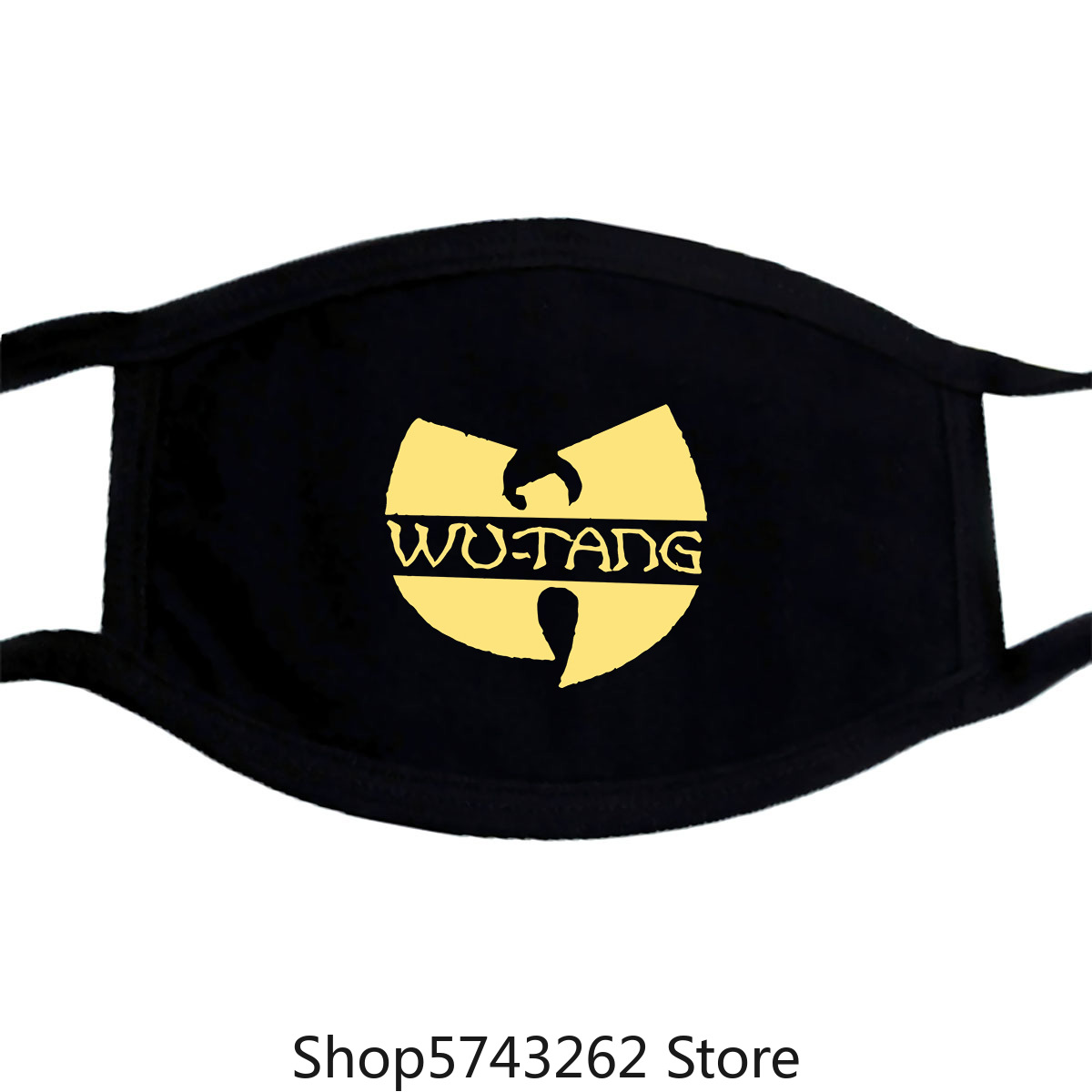 Wu Tang Clan Embroidered W Logo Mask New 100 Authentic Washable Reusable Mask