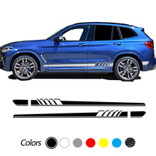 Car Side Stickers Auto Decals Tuning 2pcs For BMW X5 E70 E53 F15 X3 F25 E83 X6 F16 E71 X1 F48 E84 X2 X4 F26 X7 M2 M3 M4 M5 M6 2