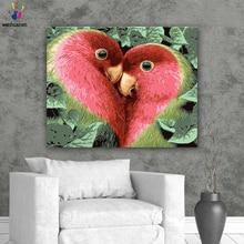 Сделай Сам картинки для раскраски по номерам с цветами птица в форме сердца картина для рисования картины по номерам в рамке дома