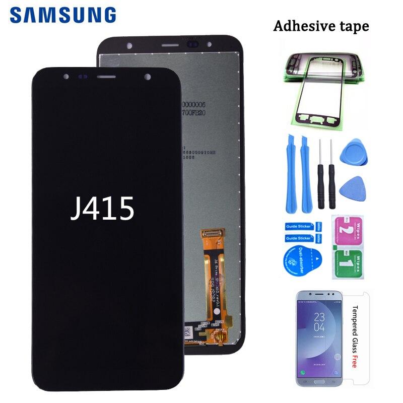 100% Original For Samsung Galaxy J4+ J415 SM-J415F J415FN LCD Display Touch Screen Assembly For Samsung J6+ J610 Lcd Screen