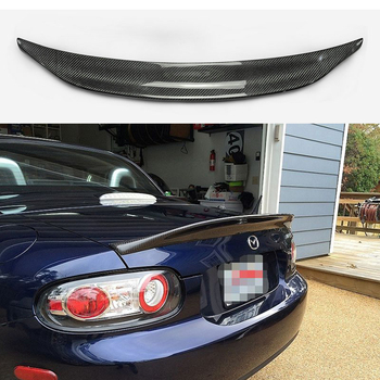 Car-styling for MX5 NC NCEC Roster Miata EPA Type 3 Carbon Fiber Rear Spoiler Glossy Fibre Trunk Wing Lip(PRHT Hard Top Only) for infiniti g37 4door sedan rear spoiler wing lip car styling for g37 high quality carbon fiber rear trunk spoiler wing 2007 13