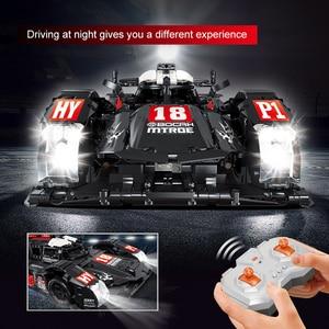 Image 2 - RC Formula Racing Car Model Building Blocks Compatible Technic Series DIY Model Set Toys Power Motor Function Car Bricks Toys