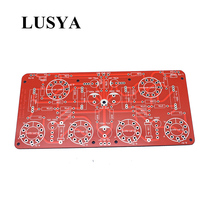 Lusya 12ax7 el84 6p14 placa pcb push pull amplificador de potência bile máquina diy kits G12 013