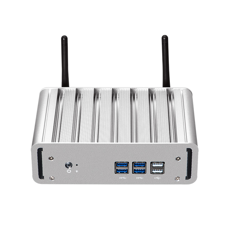 Mini Computer Fanless Intel Core I3-4010Y I5-4200Y I7-4610Y Windows 10 Linux HDMI VGA WiFi Gigabit LAN Compact Desktop PC