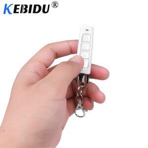 Image 1 - KEBIDU 433MHZ Remote Control Garage Gate Door Opener Remote Control Cloning Code Car Key Duplicator Clone 12V Transmitter Newest