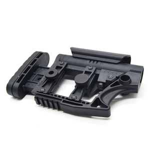 Image 4 - XPOWER LUTH MBA 3 STYLE STOCK Adjustable Extended For Air Guns CS Sports Paintball Airsoft Tactical BD556 Receivers Gearbox