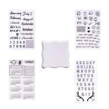 1 Set Transparant Clear Siliconen Stempel Seal DIY Scrapbooking Fotoalbum Deco(China)