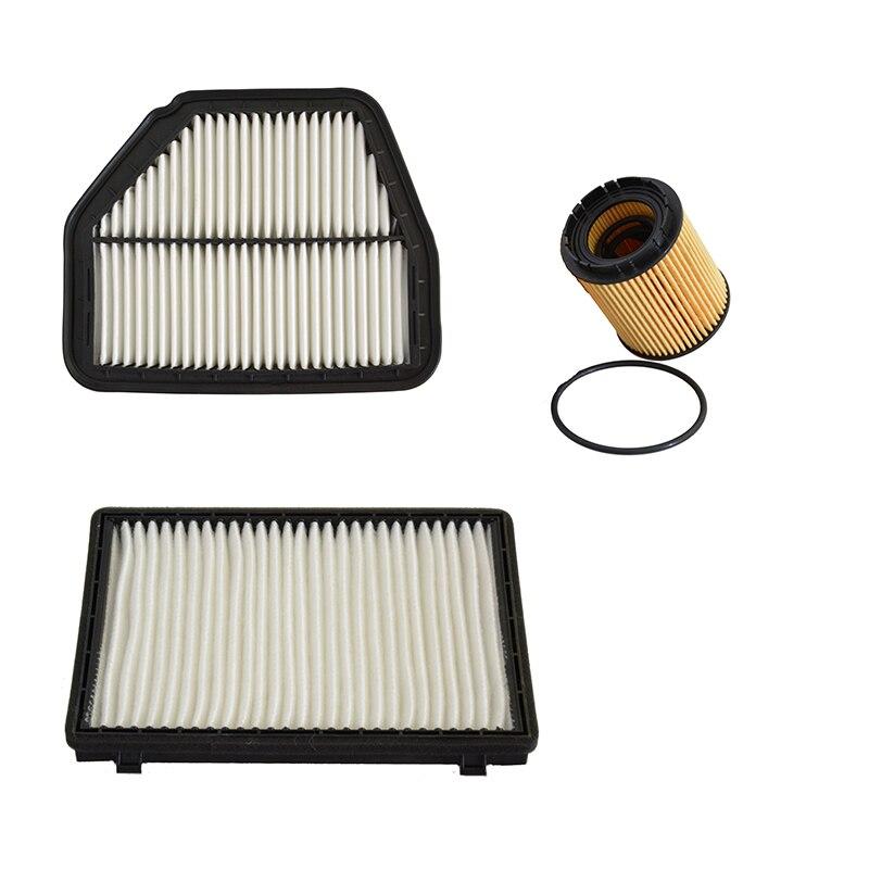 Car Air Filter Cabin Filter Oil Filter for 2012-2014 Chevrolet Captiva 2.4 96628890 96440878 PF457G