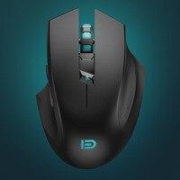 250HZ Professional Gaming Mouse Sem Fio 2400DPI Mouse USB Computer Mouse Ergonômico Óptico Ajustável Ratos para PC Portátil Rato|Mouse|Computador e Escritório -