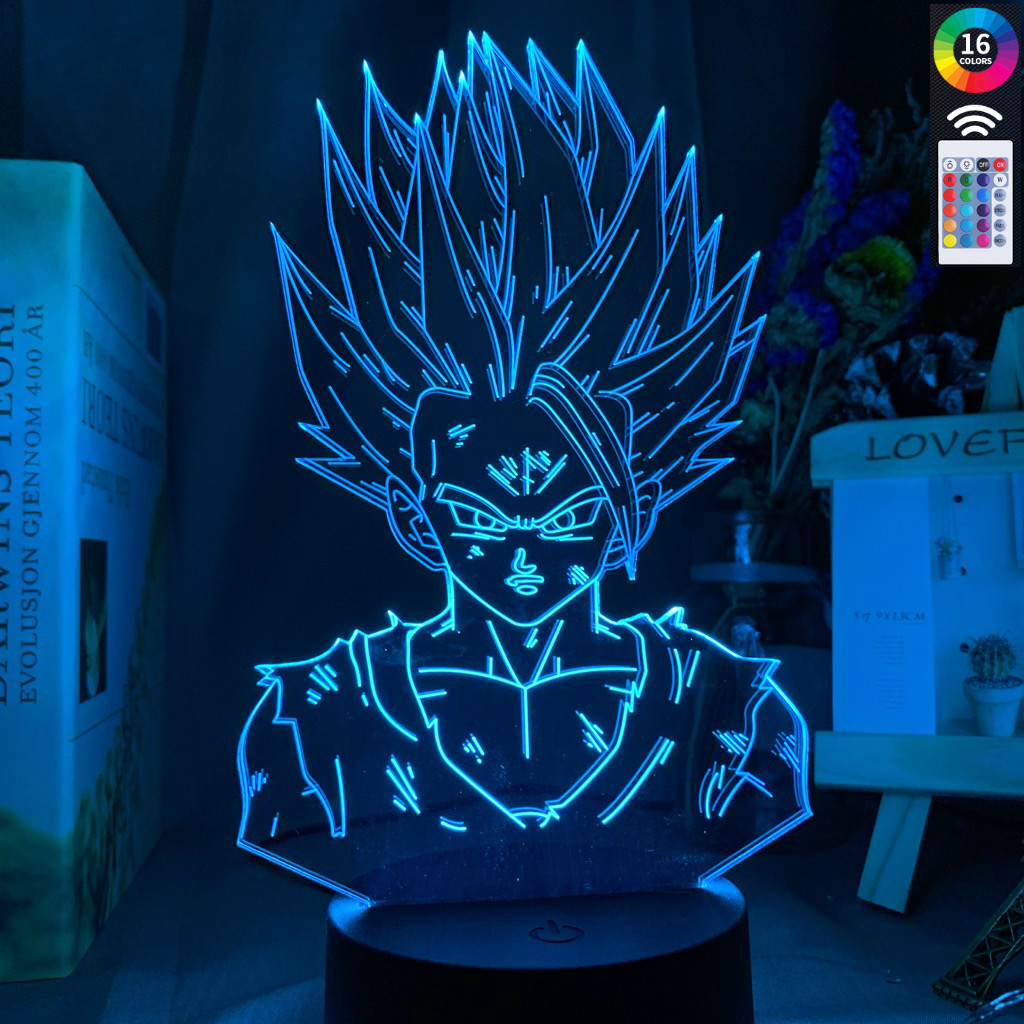 3d <font><b>Lamp</b></font> <font><b>Dragon</b></font> <font><b>Ball</b></font> Z Gohan Figure Child Bedroom Decor Nightlight Cool Kids Gift Anime Gadget Led Night Light <font><b>Dragon</b></font> <font><b>Ball</b></font> image