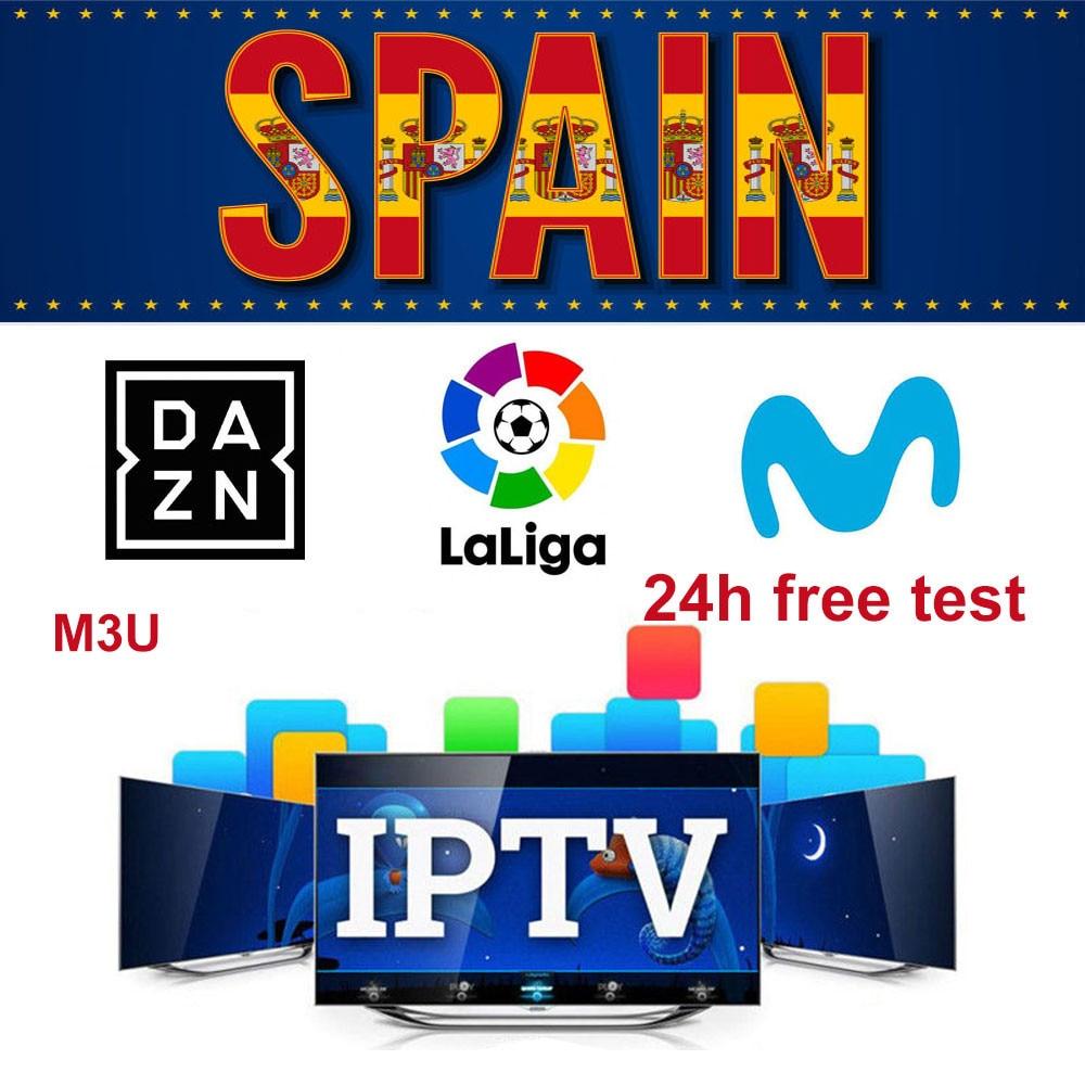 IPTV para España M3U Movistar LaLiga DAZN Eurosport español con XXX soporte Android caja de Enigma2 IOS Smart TV APP incluido Apple iPhone 6S iOS Dual Core 4G LTE desbloqueado teléfono móvil 4,7