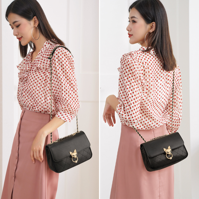 Foxer Streety Fashion Women Leather Crossbody Bag