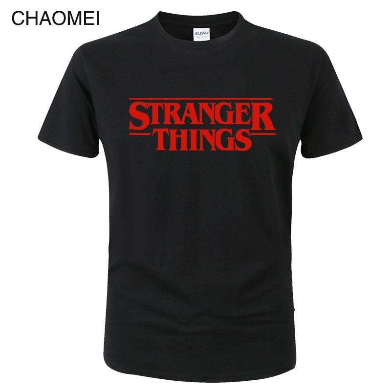 Stranger Things 3 Funny Tshirt Men Women Letter Printed T-shirt Male Fashion Shirt Harajuku Brand Tshirt Top Tees C123