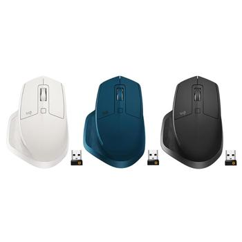 Logitech MX MASTER 2S 7 Buttons Dual Mode 4000DPI Gaming Mouse Macro Definition Rechargeable USB Wireless Bluetooth Laser Mice 1