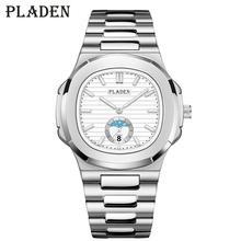 Reloj de acero inoxidable para hombre, cronógrafo de alta calidad, de lujo, regalo para hombre, Tag Heuerwatch de cuarzo