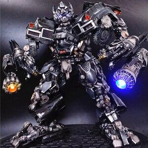 Image 4 - BMB Transformation Robot Black Mamba LS 09 LS09 Ironhide Weapon Expert KO MPM06 MPM 06 Alloy Truck Mode Action Figure Model Toys