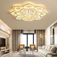 Crystal Ceiling Lights fixtures For living room lights Bed room led ceiling light lustre cristal Ceiling Lamp lamparas de techo black white gray minimalism modern led ceiling lights for living room bed room lamparas de techo led ceiling lamp light fixtures