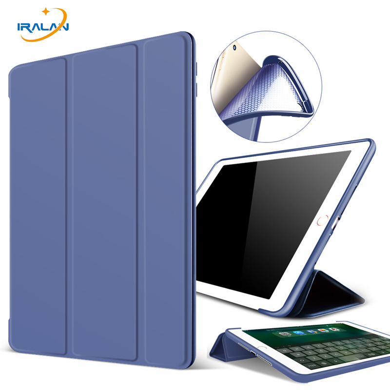Case For iPad 2 3 4 Slim PU Leather Flip Cover Soft Silicone TPU Back Magentic Smart Case For iPad 2 3 4 A1430 A1460+Film+Stylus|Tablets & e-Books Case| |  - title=