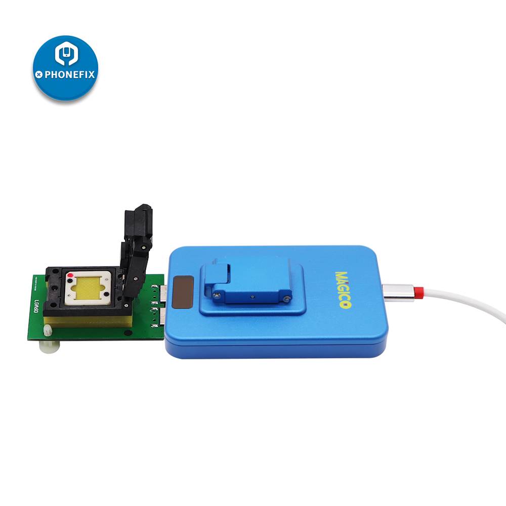 Tools : IP Magico Box V2 NAND PCIE High Speed Programmer Photosensitive Repair Connector IP BOX 2th Upgrade for Iphone 7P 7 6S 6p 5 Ipad