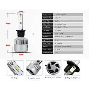Image 4 - Anmingpu 2017 16000lm/Paar Koplampen H7 H4 Led H8 H11 HB3/9005 HB4/9006 H1 H3 9012 H13 9004 9007 72W Auto Lamp Auto Licht