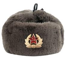 2019 חדשות סתיו חורף ברית המועצות מפציץ כובעי CCCP גברים נשים קטיפה כובע להתחמם סובייטי כובע