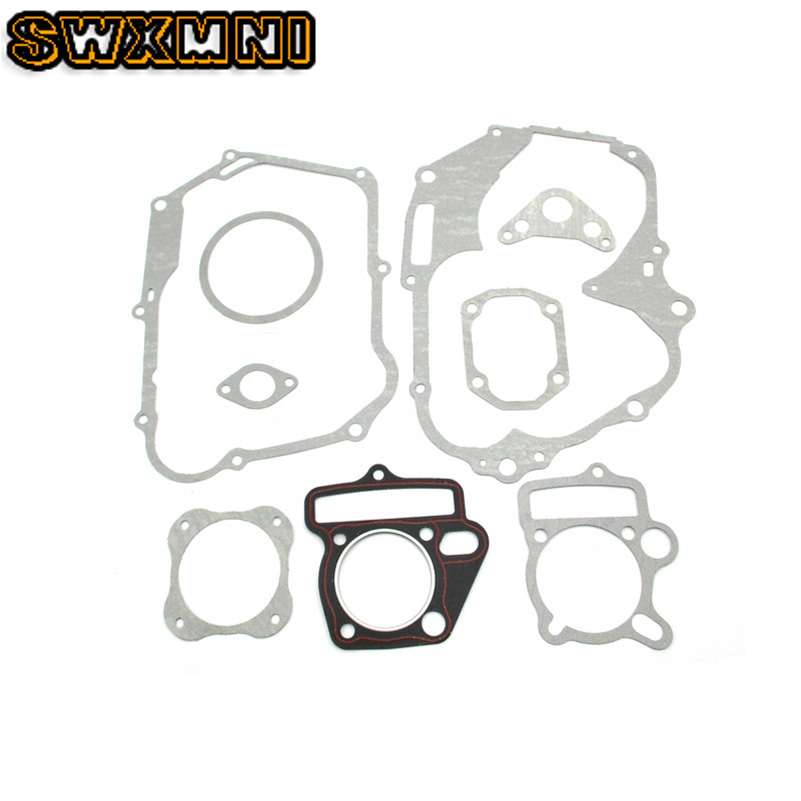 Brand New Lifan <font><b>125cc</b></font> Set Engine Gaskets <font><b>Motor</b></font> Cylinder Gasket Head Base For Dirt Pit Bike Motorcycle Scooter Quad Buggy image