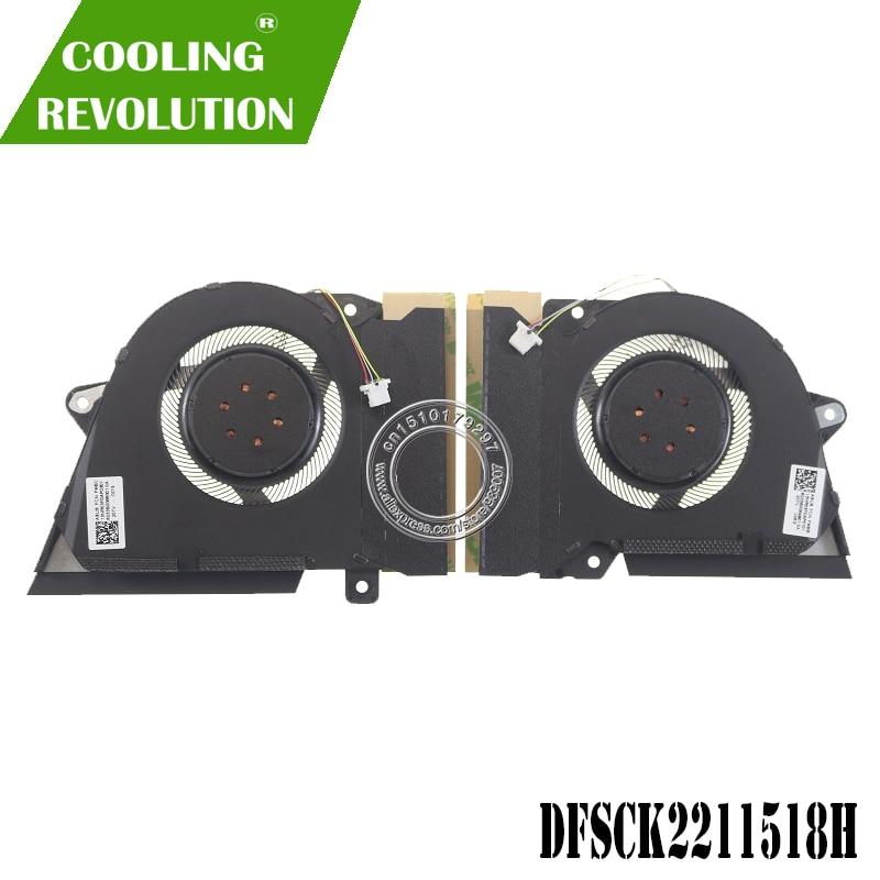 Вентилятор охлаждения ноутбука 13NR03F0AP0101 13NR03F0AP0301 DC12V 1A 4PIN для ASUS ROG Зефир G14 GA401I GA401IV