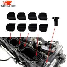 Алюминий KILL KIT с черным анодированием для 2,0 TFSI swirl заслонки EA113 VW Golf 5 6 GTI ED30 ED35 R Audi A3 S3 TT