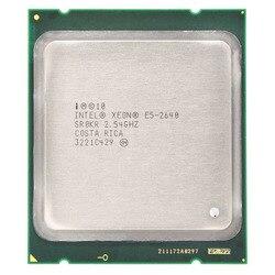 Intel Xeon E5-2640 E5 2640 Enam Inti 15M Cache/2.5/G Hz/8.00 GT/S 95W LGA 2011 Sandy Bridge-EP 2650 2660 CPU Gratis Pengiriman