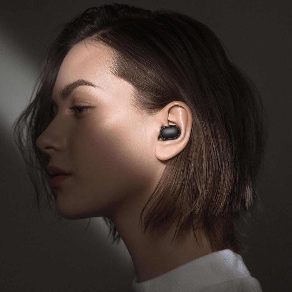 Xiaomi Redmi Airdots Benar Nirkabel Bluetooth Earphone Tws 5.0 Asli Xiaomi Air Airdots PRO Headset DSP dengan MIC