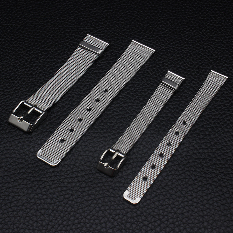 Watch Accessories DW Watch Strap Stainless Steel Milan Watch Band 18 Mm/12 Size Men And Women Ultra-Thin Clean Steel Watch Brace