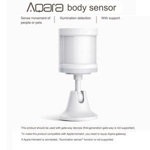 Image 2 - Aqara الذكية جسم الإنسان الاستشعار حركة PIR محس حركة زيجبي اتصال لاسلكي ل Mijia Mi المنزل APP RTCGQ11LM