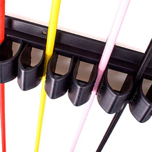 Крепкий пластиковый конский хлыст-стойка, органайзер для Whips и настенный держатель-вмещает до 12 whips