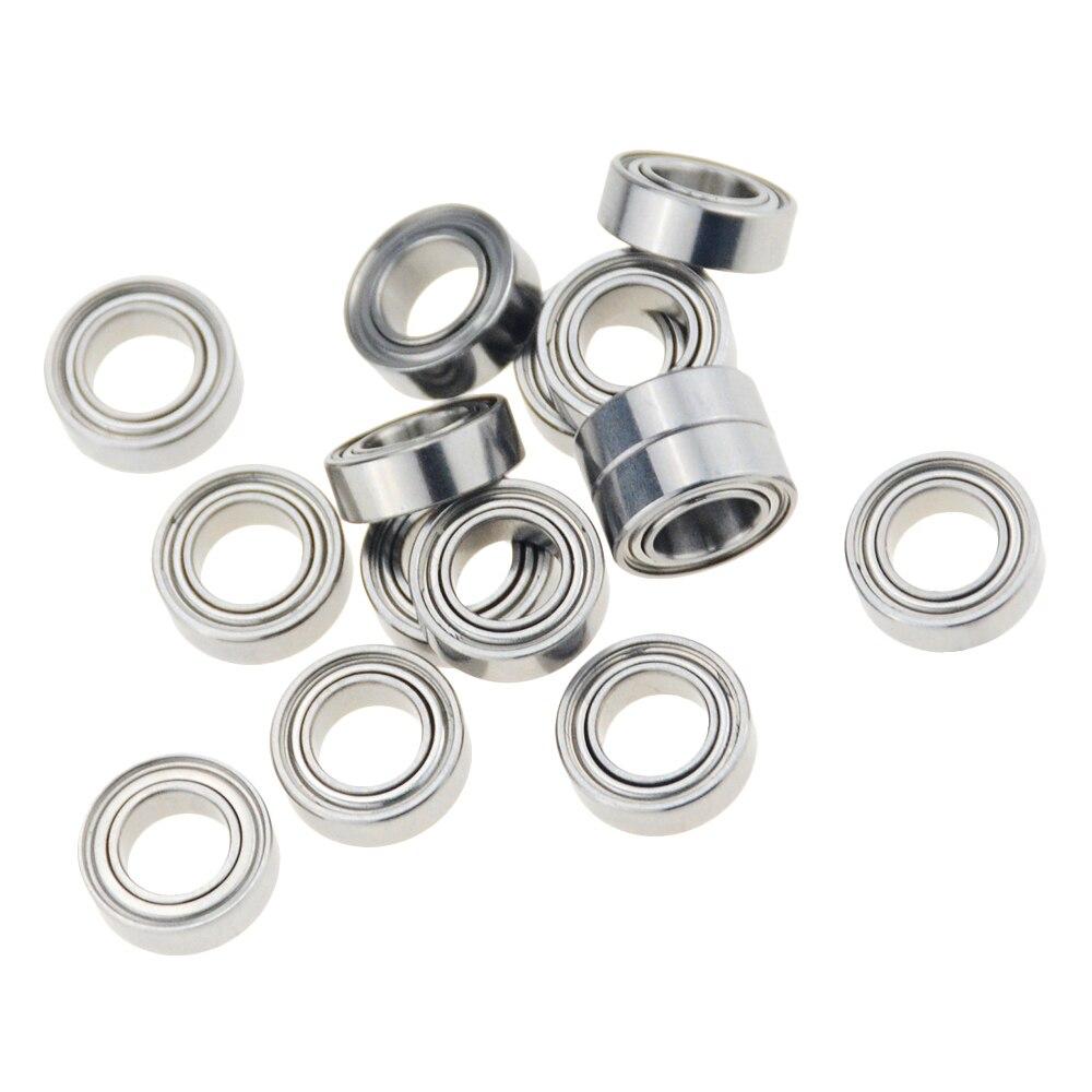 10pcs/lot MR148ZZ 8X14X4mm miniature deep groove Single Row Ball Bearings MR148 L-1480ZZ 8*14*4mm MR52ZZ MR128ZZ