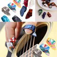 Juego de 4 unidades de tubos de tubo para guitarra acústica, accesorios para guitarra eléctrica, colores aleatorios, 2020