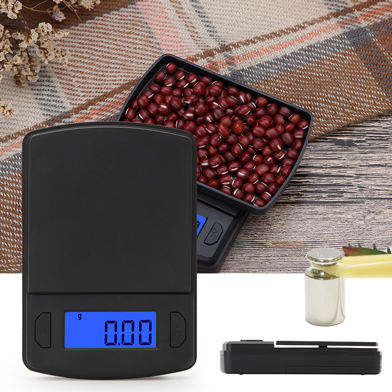High Precision Pocket Scale Digital for Gold Sterling Jewelry Scales Weight Gram Balance LCD Electronic Mini Scales