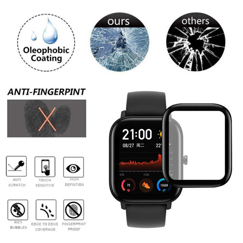 Guard-Cover Screen-Protector Protective-Film GTS Huami Amazfit Tempered-Glass  title=
