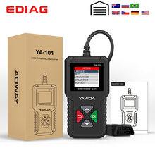 EDIAG YA101 OBDII/EOBD Code Reader OBD 2 Diagnostic Tool YA-101 Update Free online PK CR3001 ELM327 V1.5 obdii Diagnostic Tool(China)