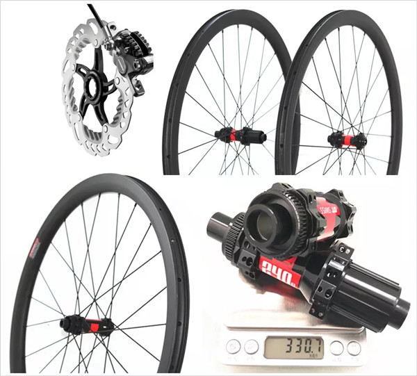 OEM ODM DT 240S Carbon Road Bike Disc Brake Tubeless 38mm 45mm 50mm Wheelset 25mm Wide Road Racing Wheels 700c Axle Wheel Disk