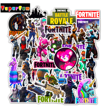 50PCS Playerunknows PUBG Game Stickers For Car Anime Laptop Luggage Computer Bicycle Phone case Skateboard Pad Decal Sticker Toy a0023 superman logo dream anime kids recognition toy stickers for diy car laptop skateboard pad bicycle ps4 phone decal trunk