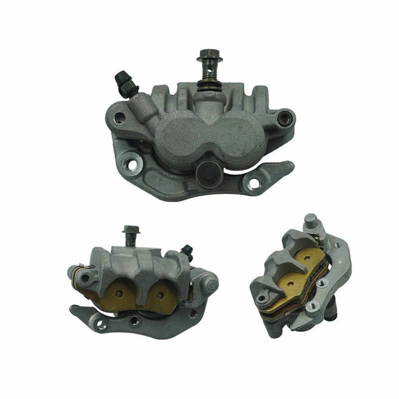 NICECNC Front Brake Caliper With Pads Replace Honda CR125R CR250R 2000 CRF150F CRF230F 2003-2009,2012-2016 XR650R 2000-2007