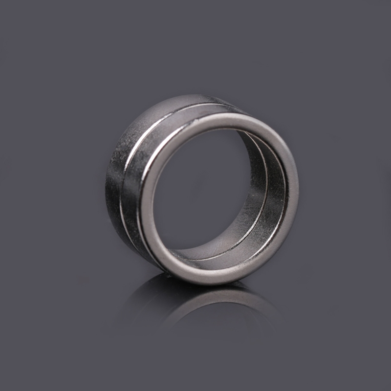 2 Pcs Flashlight Tail Magnet Magnetic Ring 20x16x5mm