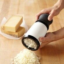 Терка для сыра, терка для сыра, ручная шлифовальная машина, кухонные инструменты, мельница, инструменты для выпечки, приспособления для резки сыра, кухонный гаджет pf10074