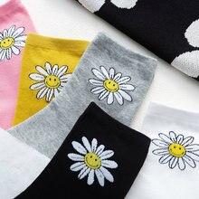 Милые носки в стиле Харадзюку черные женские забавные Веселые