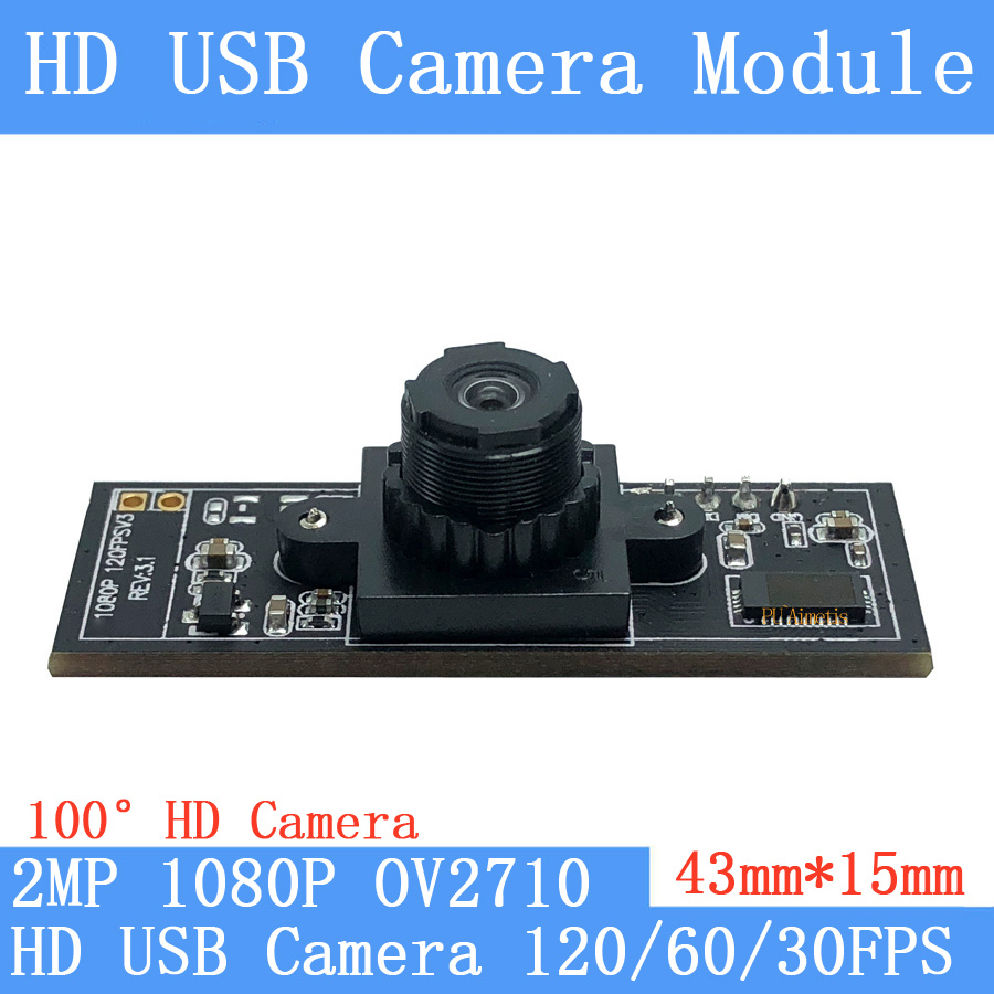 170 Degree Fisheye Lens 2MP MJPEG 30//60//120fps High Speed USB Box Camera Hidden