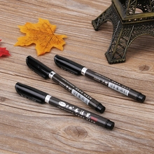 1PC Chinese Japanese Calligraphy Brush Ink Pen Writing Drawing Tool Craft ottwn 1pc soft hair writing brush black ink for calligraphy practice watercolor fountain pen painting drawing tool school supply